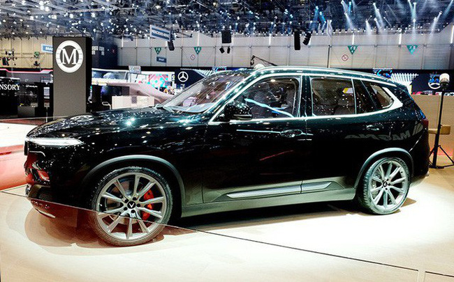 VinFast Lux V8 - SUV sẽ ra mắt vào năm 2020, số lượng giới hạn
