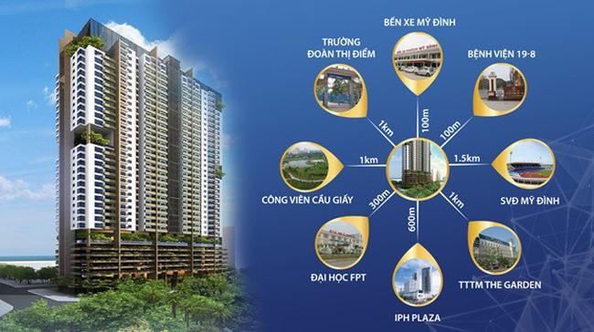 P.Land phân phối chính thức dự án FLC Green Apartment 18A Phạm Hùng