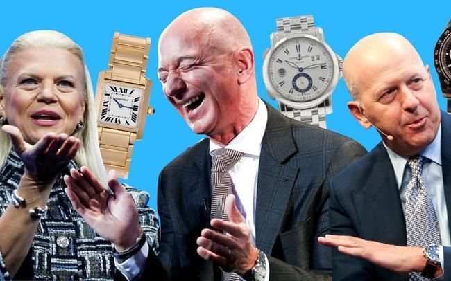 """Các CEO quyền lực nhất thế giới đeo đồng hồ như thế nào: Người trung thành với thương hiệu cao cấp giá """"cắt cổ"""", người ưa dùng nhãn hiệu bình dân"""
