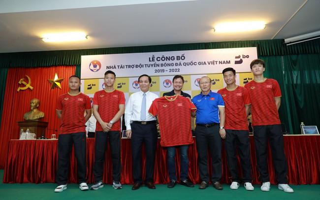Be Group chính thức trở thành nhà tài trợ đồng hành cho đội tuyển bóng đá quốc gia