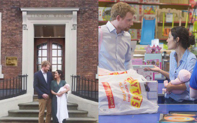 Thực hư đằng sau loạt ảnh Hoàng tử Harry và Meghan bế con đầu lòng đứng trước bệnh viện và đi mua sắm đồ dùng em bé gây xôn xao dư luận