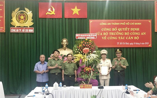 Đại tá Nguyễn Sỹ Quang được bổ nhiệm làm Phó Giám đốc Công an TPHCM