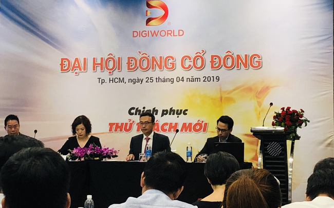 ĐHĐCĐ Digiworld: Ngành hàng tiêu dùng sẽ dẫn dắt tăng trưởng 2019 thông qua hợp đồng mới với Nestle