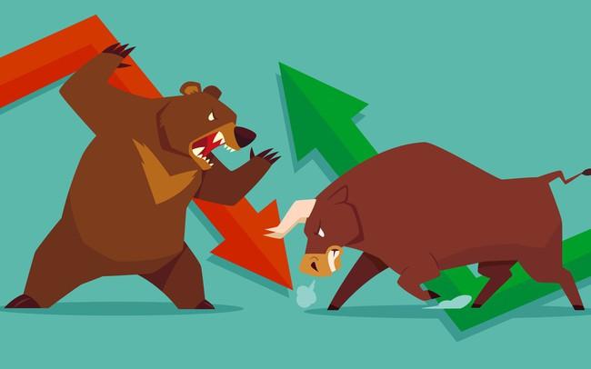 """Lực bán dồn dập khiến Vn-Index mất hơn 9 điểm, CTD giảm sàn """"trắng bên mua"""""""