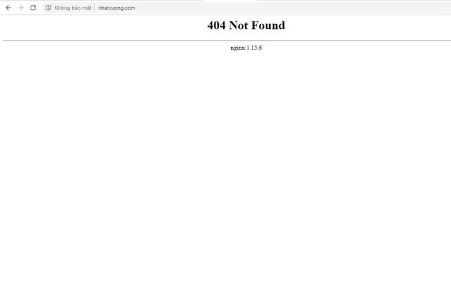 Website của Nhật Cường Mobile đồng loạt biến mất trên internet