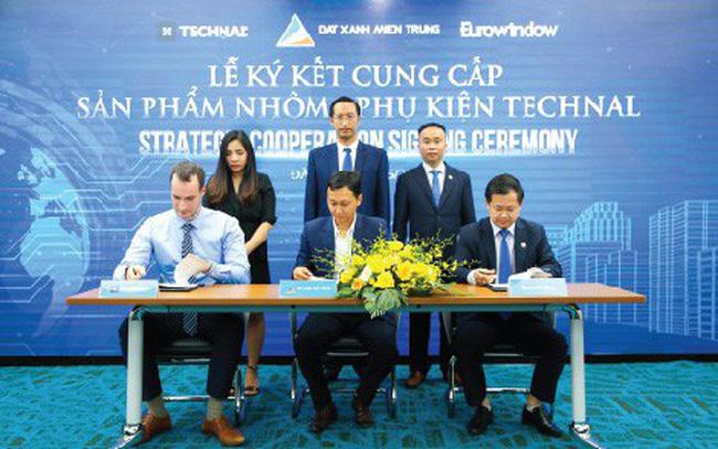 Đất Xanh Miền Trung ký kết cung cấp sản phẩm nhôm và phụ kiện Technal thuộc tập đoàn Hydro