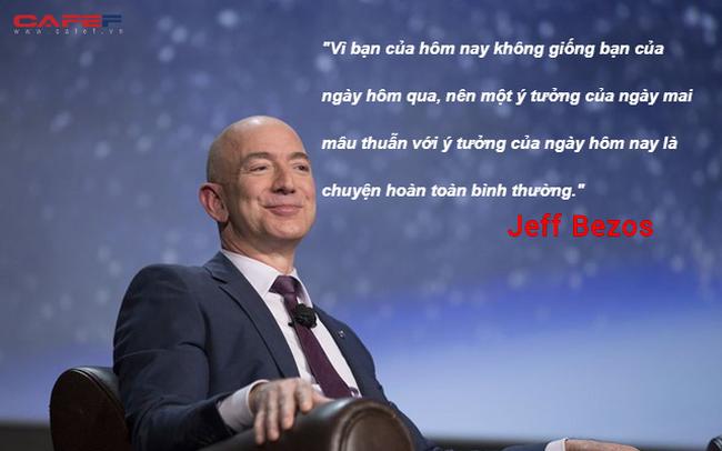 Tỷ phú Jeff Bezos: Người thông minh sẽ đưa ra quyết định hoàn toàn khác biệt so với số đông còn lại