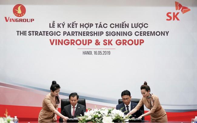 SK Group chính thức chi 1 tỷ USD mua cổ phần Vingroup với giá 113.000 đồng/cp - ảnh 1