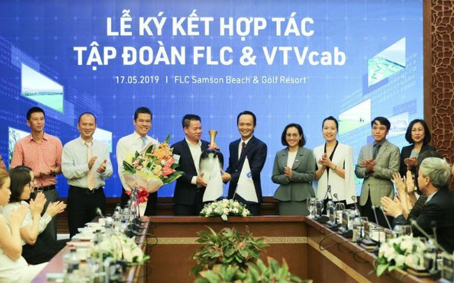 Tập đoàn FLC và VTVcab ký thỏa thuận hợp tác chiến lược