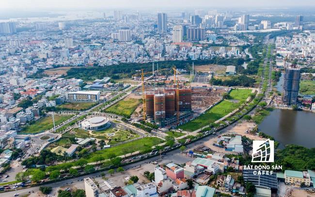 """Đòn bẩy hạ tầng kích thị trường nhà đất khu Nam TP.HCM """"vượt mặt"""" khu Đông?"""