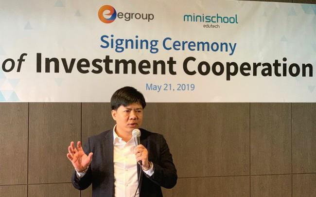 """Shark Thủy bắt tay với """"Uber"""" giáo dục Hàn Quốc, chính thức đầu tư ra nước ngoài"""
