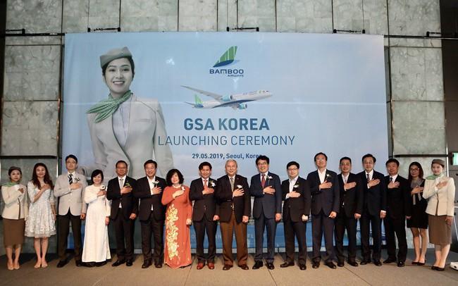 """Tỷ phú Trịnh Văn Quyết """"chơi lớn"""", mở Tổng đại lý tại Hàn Quốc cho hãng hàng không Bamboo Airways"""