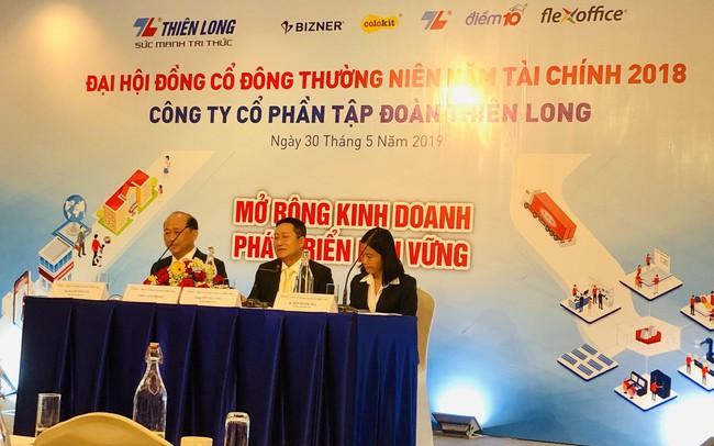 ĐHĐCĐ Thiên Long Group (TLG): Hợp tác với NWL Cayman, đặt mục tiêu tăng tỷ trọng xuất khẩu lên 25% doanh thu đến cuối năm 2020