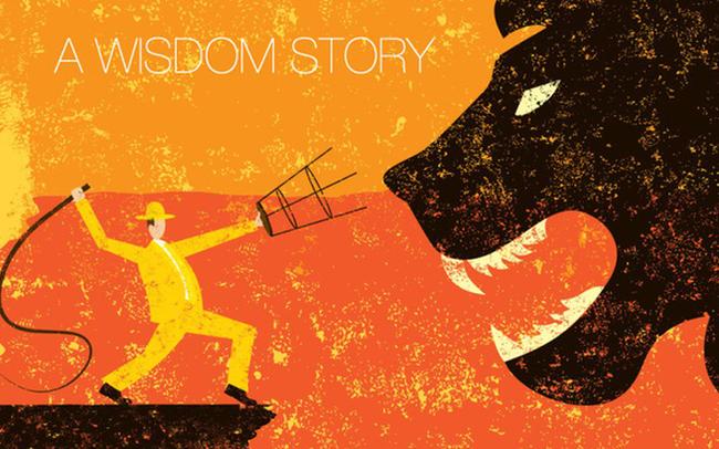 Chiếc roi hay cái ghế mới thuần phục được con sư tử và đáp án đầy ẩn ý ai cũng cần