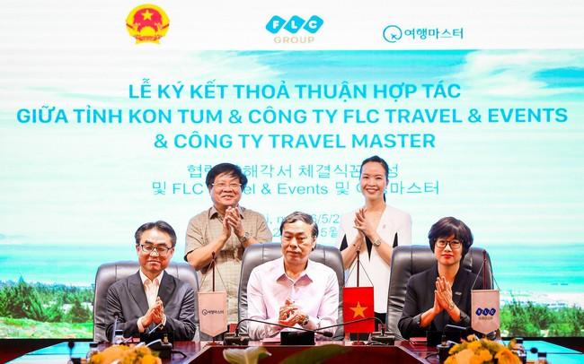 """FLC Travel & Events """"bắt tay"""" đối tác Hàn Quốc, tăng cường kết nối du lịch trong nước và quốc tế"""