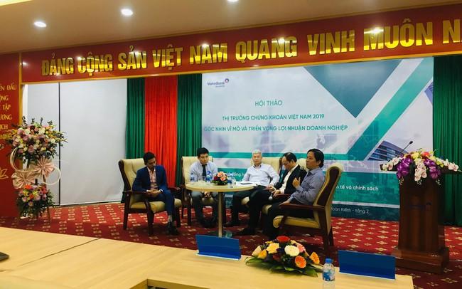 """""""Định giá thị trường Việt Nam không còn quá rẻ, dự báo VN-Index kết thúc năm 2019 trong vùng 920 – 950 điểm"""""""