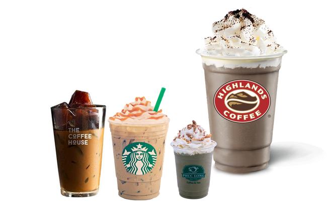 """""""Đại chiến"""" chuỗi cà phê: Highlands quy mô áp đảo, The Coffee House tăng trưởng gấp đôi để vượt mặt Starbucks"""