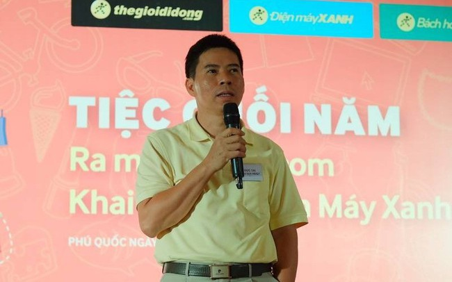 Ông Nguyễn Đức Tài đăng ký mua cổ phiếu Thế giới di động
