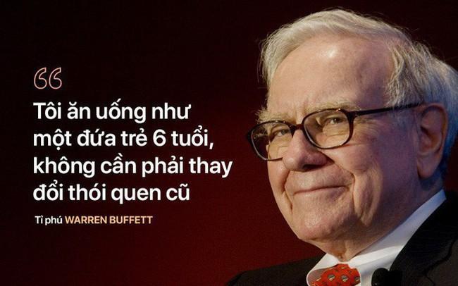 """Bí quyết trẻ khỏe """"ngược đời"""" của tỉ phú U90 Warren Buffett: """"Tôi ăn như đứa trẻ 6 tuổi"""""""