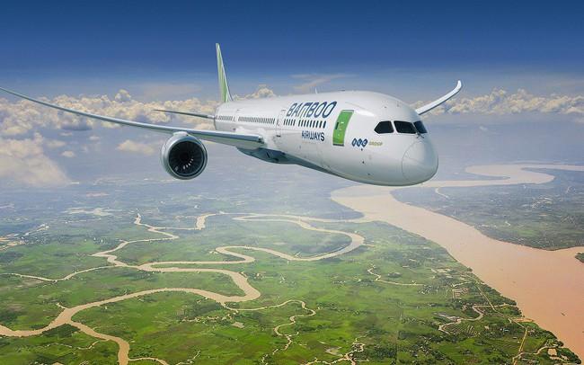 Hãng hàng không trẻ Bamboo Airways giật giải bay đúng giờ nhất Việt Nam 5 tháng liên tiếp - ảnh 1