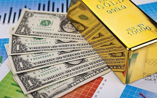 USD lao dốc, vàng duy trì ngưỡng cao nhất 5 năm