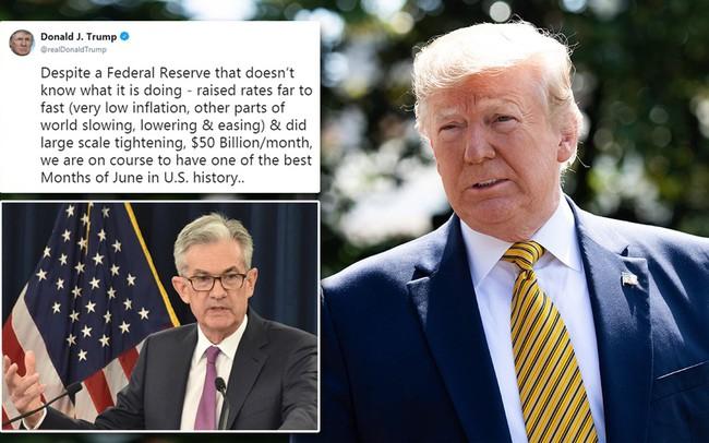 Tổng thống Trump ví Fed như một đứa trẻ bướng bỉnh không biết mình đang làm gì - ảnh 1