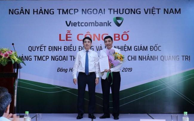 Vietcombank điều động, bổ nhiệm 3 giám đốc chi nhánh