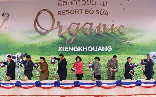 """Xây tổ hợp """"Resort"""" bò sữa Organic 5.000 ha tại Lào: Vinamilk giữ đúng cam kết sẽ chinh phục thì trường cao cấp quốc tế"""