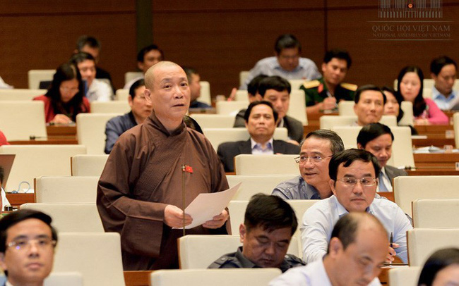 ĐBQH đại diện Giáo hội Phật giáo khẳng định không có hiện tượng kinh doanh chùa trục lợi