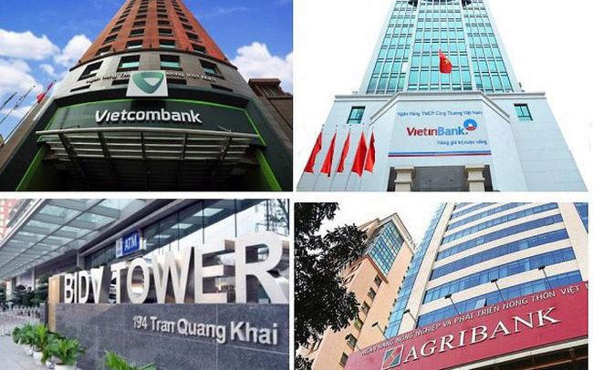 """Hiệp hội ngân hàng kiến nghị tăng vốn """"khẩn"""" cho Agribank, VietinBank, Vietcombank, BIDV"""