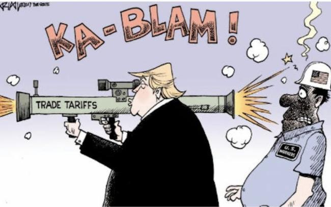 """Thuế quan của ông Trump có thực sự giúp nước Mỹ """"kiếm được hàng tỷ USD""""?"""