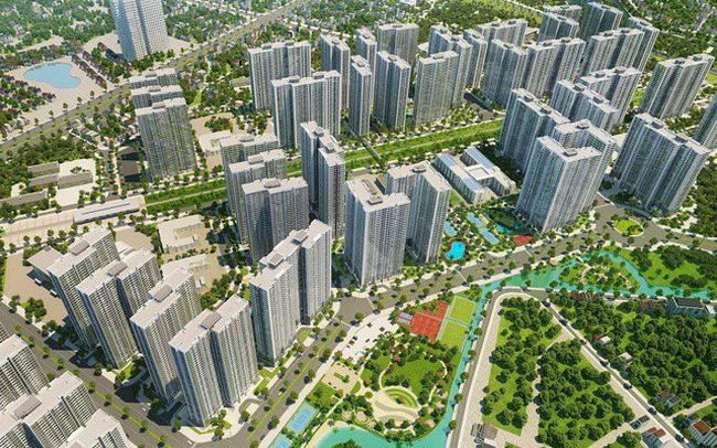BĐS cuối năm: Giá tiếp tục tăng, 3 đại đô thị của Vingroup sẽ là nguồn cung áp đảo trên thị trường