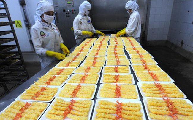 Xuất khẩu tôm bao bột sang Mỹ tăng mạnh