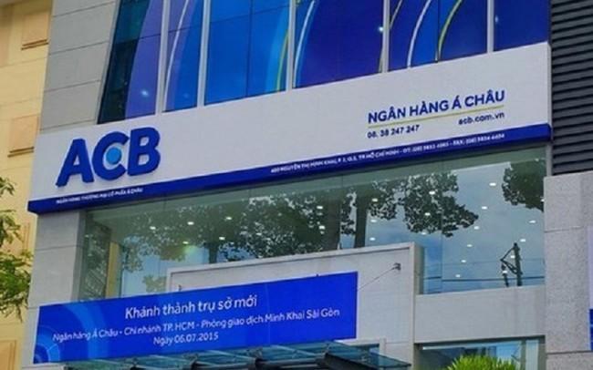 ACB chốt danh sách cổ đông ngày 26/7 để trả cổ tức bằng cổ phiếu tỷ lệ 30%