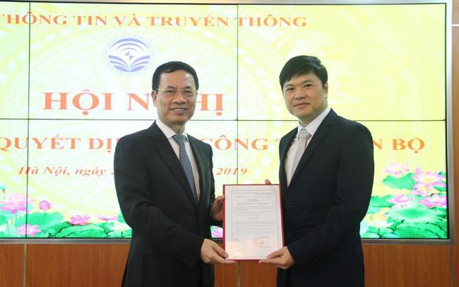 Ông Hoàng Minh Cường giữ chức Cục trưởng Cục Viễn thông