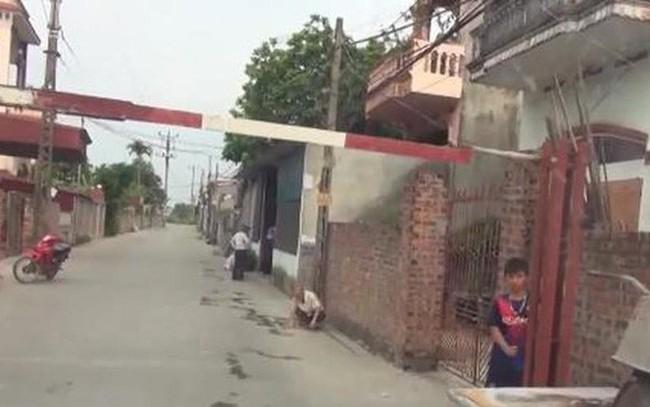 Dân tự lập trạm 'BOT' thu tiền xe vào thôn ở Hải Dương