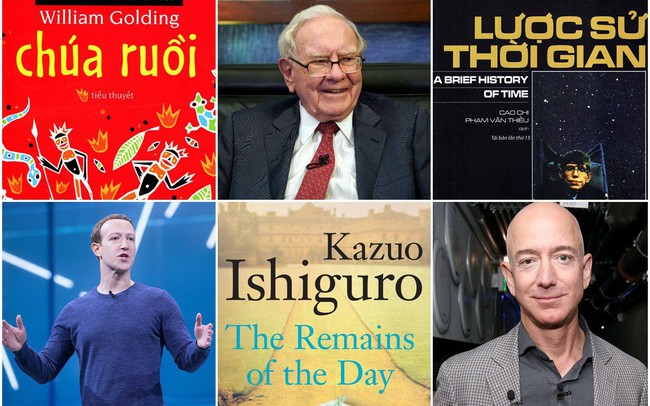 """Những cuốn sách """"gối đầu giường"""" 8 bộ óc thiên tài nhất thế giới luôn đọc hàng đêm: Jeff Bezos chọn tiểu thuyết, CEO Google thích y khoa"""