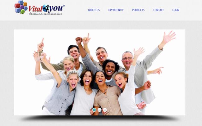 Cảnh báo dấu hiệu kinh doanh đa cấp trái phép qua hệ thống Vital4u.net