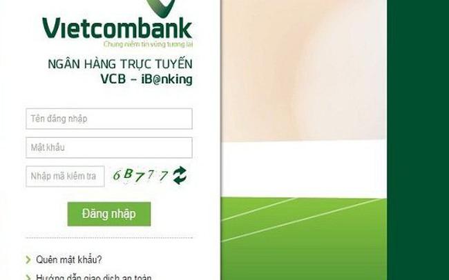 Vietcombank tạm dừng nhận gửi tiền online của người nước ngoài