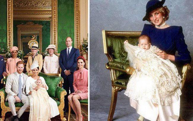 Hai chi tiết đặc biệt xúc động trong lễ rửa tội của bé Archie, chưa từng xảy ra ở 3 con nhà Công nương Kate, khiến người hâm mộ nghẹn ngào