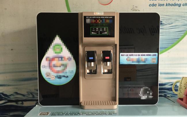 """Lật tẩy chiêu trò máy lọc nước Trung Quốc thành """"Hàng Việt công nghệ Châu Âu"""""""