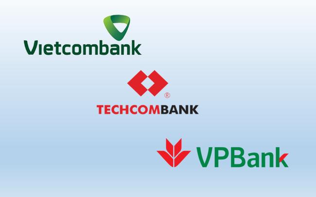 """""""So găng"""" mảng thẻ ngân hàng, dịch vụ thanh toán của Vietcombank, Techcombank và VPBank"""
