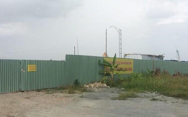 Tp.HCM: Cưỡng chế vi phạm xây dựng tại Khu công nghiệp Phong Phú - ảnh 1