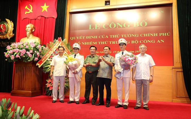 Công bố quyết định của Thủ tướng Chính phủ bổ nhiệm 02 Thứ trưởng Bộ Công an