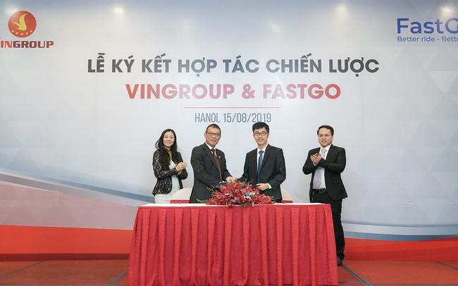 Vingroup bắt tay với Fastgo, đưa 1.500 xe Fadil tham gia thị trường xe công nghệ cạnh tranh với Grab, Be, Go Viet - ảnh 1