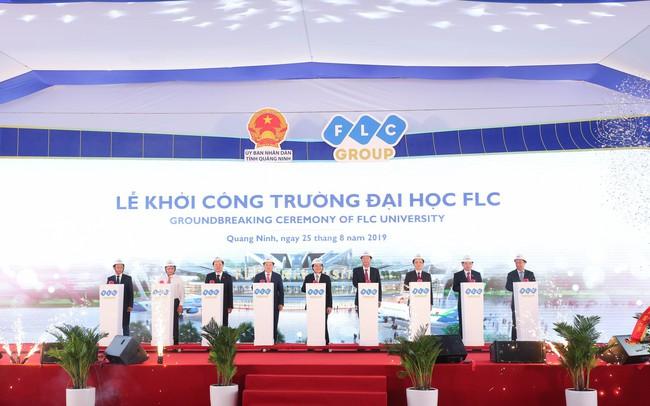 Khởi công khu đô thị đại học FLC, tỷ phú Trịnh Văn Quyết bước chân vào lĩnh vực giáo dục - ảnh 1