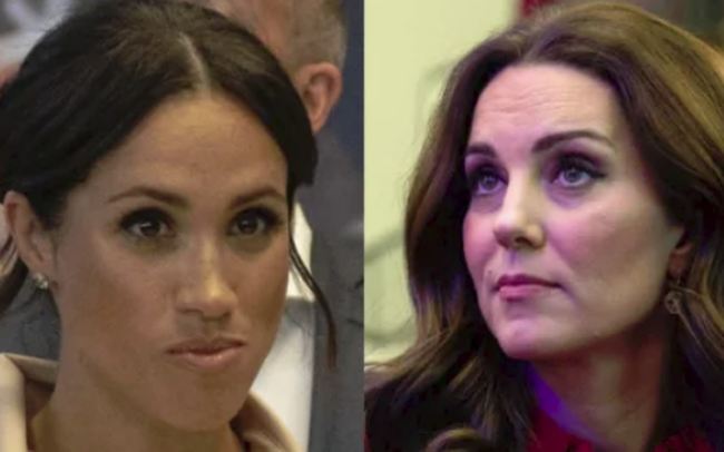 """Công nương Kate một lần nữa chứng tỏ đẳng cấp vượt trội hơn em dâu Meghan Markle chỉ bằng một hành động """"cao tay"""" của mình"""