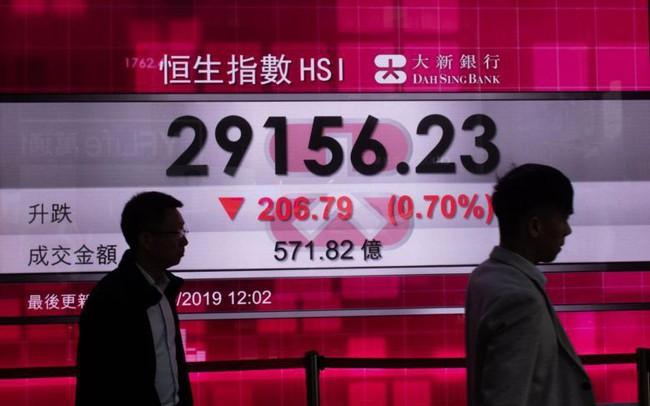 Chứng khoán Hồng Kông rơi ngày thứ 10 liên tiếp, xác lập kỷ lục tồi tệ nhất kể từ năm 1984