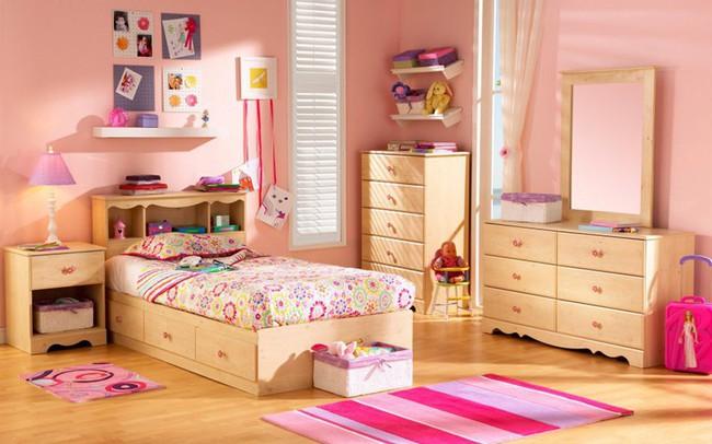 Ngắm những căn phòng độc đáo cho trẻ nhỏ với gam mầu ấn tượng