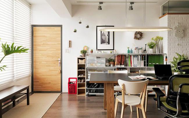 Căn hộ đẹp và lạ mắt của một kiến trúc sư tự thiết kế